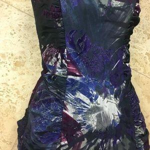 Betsey Johnson Dresses - Betsey Johnson purple textured cocktail dress 0